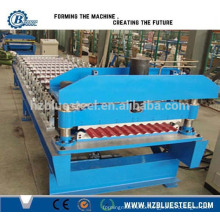 Customized Corrugated Water Wave Roll Forming Machine / China Supplier Roof Plate Making Machine