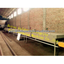 colorful stone coated steel roof tile machine