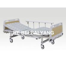 (A-71) - Lit d'hôpital à double fonction fonctionnel avec tête de lit en ABS