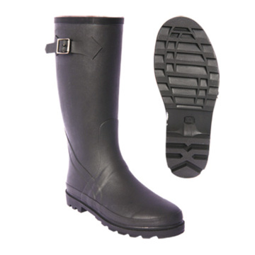 Best Quality for Pvc Shoe Cover Field farmer anti slip unisex rubber rain boots supply to Ukraine Wholesale
