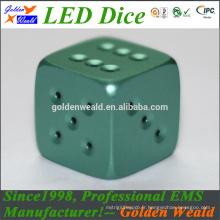 MCU contrôle coloré LED CNC dés