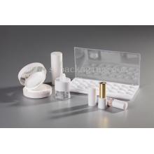 Белая серия горячая пластиковая баня косметика полная косметика косметика пустая упаковка