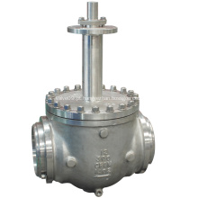 Válvula de esfera de entrada superior criogênica