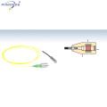 Faraday Rotator Spiegel mit Lichtwellenleiter