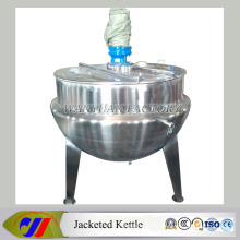Steam Heating Jacketed Cooking Mixer with Agitator Cooking Vesel