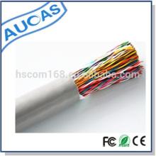 Cable de teléfono de proyecto de telecomunicaciones de suministro de fábrica para uso en interiores venta caliente