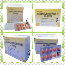 Antiepilepsie Carbamazepin Tabletten 200mg