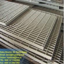 Barra de acero galvanizado rejilla planta
