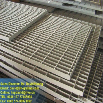 Galvanized Steel Bar Grating Plant
