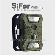 5/8/12 MP 720p vidéo planifiée 3G et Wifi SMS / mms / gsm / GPRS / smtp sms mms ip caméra de surveillance scout pour la chasse
