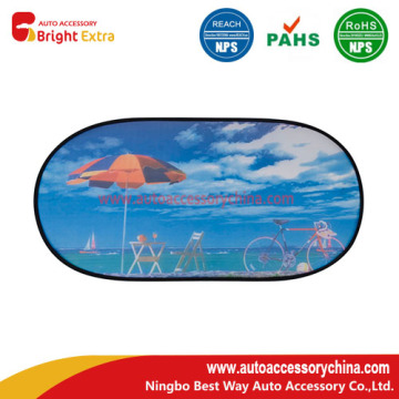 Logotipo personalizado Car Rear Window Sun Shade