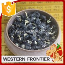 Orgânico certificado de alimentos saudáveis estilo seco preto goji berry