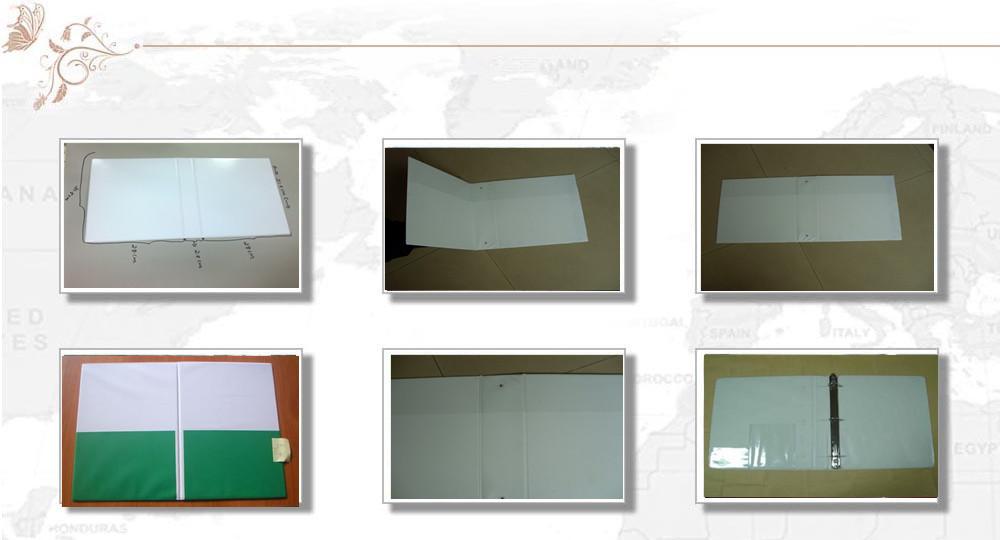 PVC file folder making machine