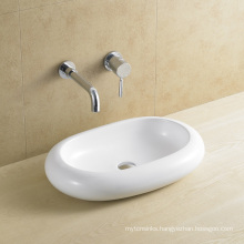 Countertop Ceramic Basin Oval (8032)