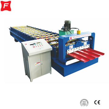 Aluminium IBR Roof Sejak lock roll forming machine