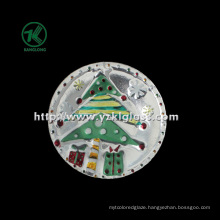 Single Wall Color Glass Plate by SGS (KLP110824-9A)