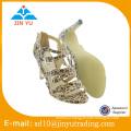 Brand latest design high heels bow tie shoes women 2016 ladies comfortable summer sandals