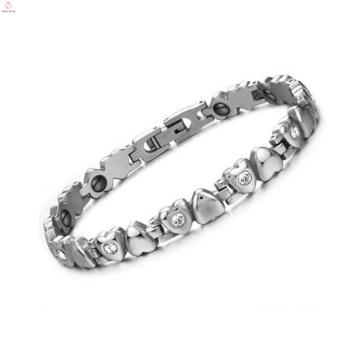 Nueva pulsera de cristal de la manera, pulsera de la Navidad diy, joyería de la pulsera