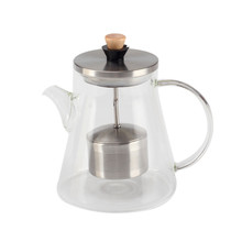 Heat Resistant Glass Tea Pot for Loose Tea