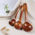 Cuchara de madera de alta calidad de seguridad para la cocina