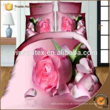 Japan-neue 3D-Druck-Hochzeits-Bettwäsche-Satz Großverkauf
