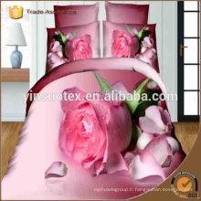 Japan New 3D Print Wedding Bedding Set Vente en gros