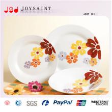 10/9/8 / 7.5 / 6 Nouveau Vaisselle de Restaurant en Porcelaine de Porcelaine