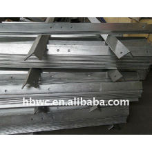 high voltage steel line fitting 1000*75*75*6mm crossarm33kv