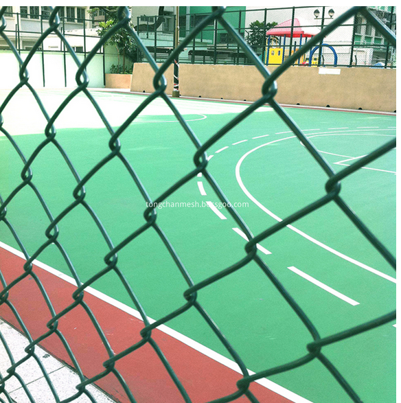 PVC Coated Chain Link Netting