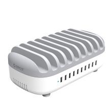 ORICO 120W 10 Ports USB Ladestation mit Ständer (DUK-10P)