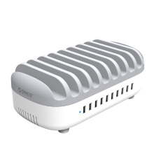 ORICO 120W Station de charge USB 10 ports avec supports (DUK-10P)