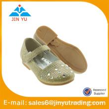 Dernière chaussure de ballerine glitter populaire pour fille