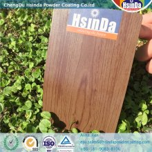 High Quality Wood Effect Powder Coating