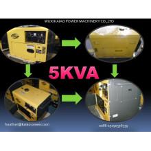 5kVA Silent Diesel Generator 50Hz/220V Best Price!
