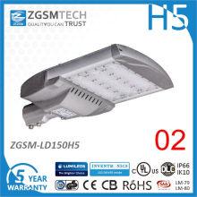 Cheap 150W LED Road Light con sensor de movimiento a prueba de agua