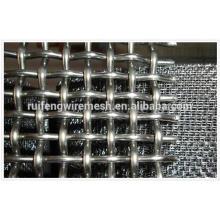 AISI 304 en acier inoxydable poli et tissé