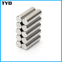 Super Strong Permanent Rare Earth NdFeB Cylinder Magnet