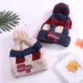 Bonnet tricoté avec chapeau Bluetooth chaud d'hiver élégant
