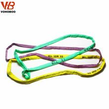 Cinturón de color de poliéster para eslingas de elevación de poliéster