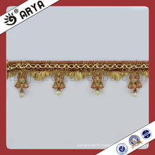 Three Beads Tassel Fringe Curtain Accessory Home Textile