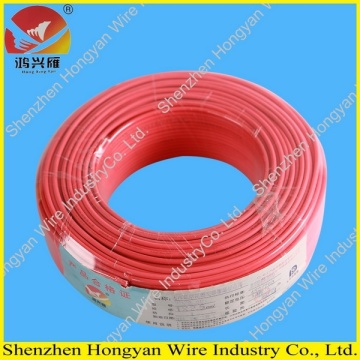 Tembaga Menjalankan PVC Insulation Electric Wire 2.5mm