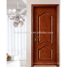 Puerta de madera puerta/MDF de lujo con madera sólida para el diseño de la puerta Interior (MD-502)
