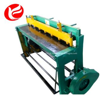 Máquina de corte de chapa de metal de aço hidráulica de alumínio