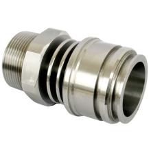 CNC-Bearbeitungs-Aluminium 6061 Drehbank-Drehteil-Maschinen-Drehbank-Teil