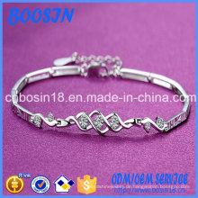 Günstiges einfaches Silberarmband für Mädchen