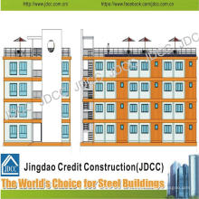 Низкая стоимость свет стальная Конструкция многоэтажного дома для студентов