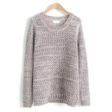 PK18D08YF mulher ponto aberto solto suéter fino para o verão primavera