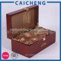 Quality Pillow custom wooden wine gift box