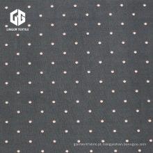 Speckle Poliéster Spandex Penetração Impresso Single Jersey