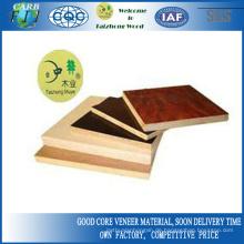 Holzkornpappel-Sperrholz mit buntem Design